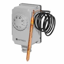 Afriso Gehäuse-Thermostat GTK/7RD mit 1m Kapillare 0-90°C 67421 - Bild vergrößern