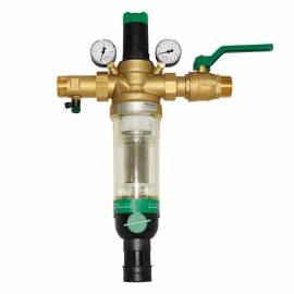 Honeywell Hauswasserstation HS10 S Rückspülfilter 2- DN 50 AA mit Absperrkugelhahn - Bild vergrößern