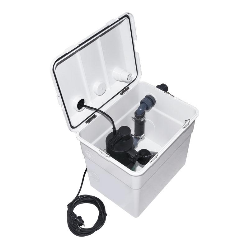dab novabox abwasserhebeanlage auch f r waschmaschine nur eur. Black Bedroom Furniture Sets. Home Design Ideas