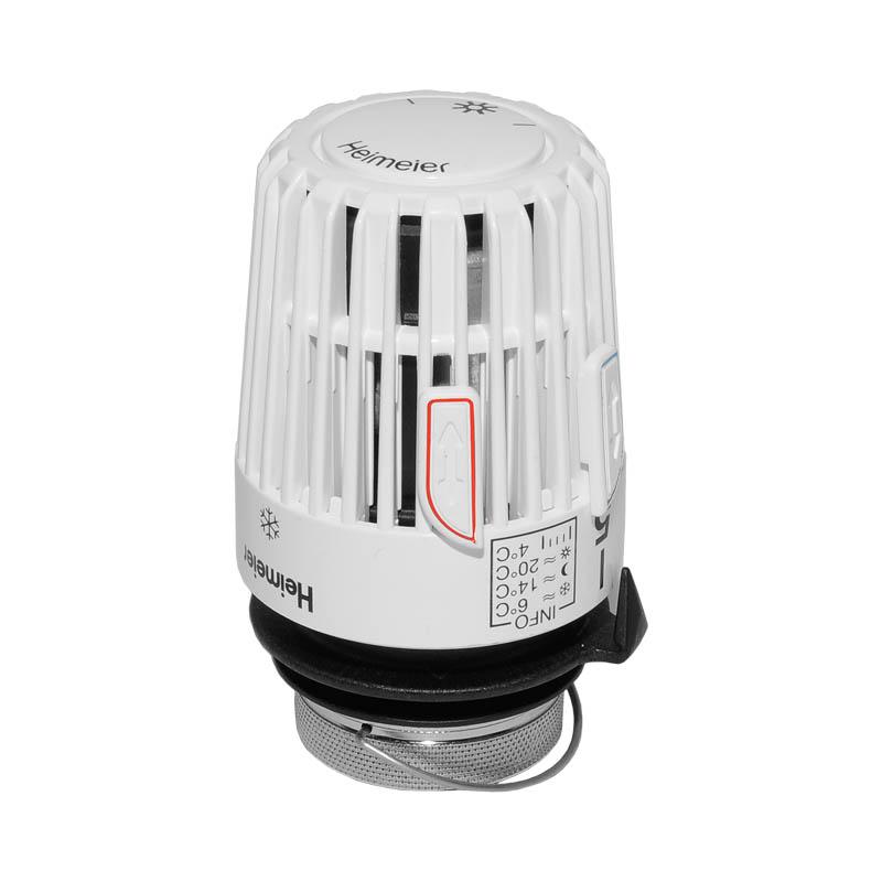 heimeier thermostatkopf mit fernf hler klimaanlage und heizung. Black Bedroom Furniture Sets. Home Design Ideas