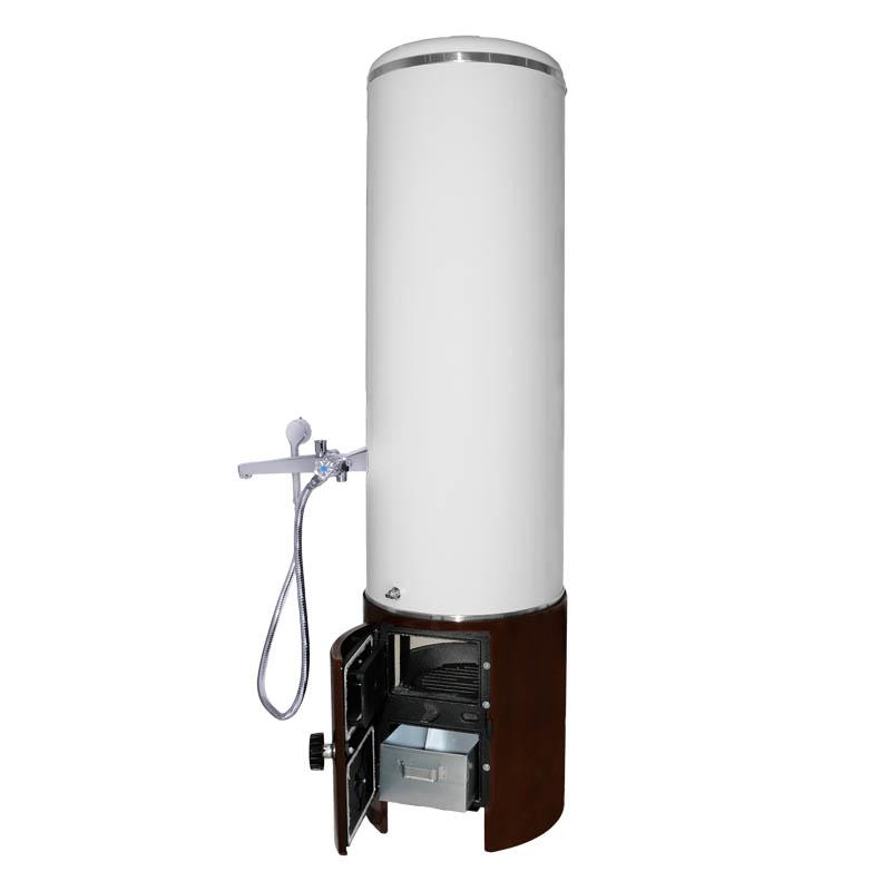 wittigsthal holz kohle badeofen 100l warmwasserspeicher. Black Bedroom Furniture Sets. Home Design Ideas