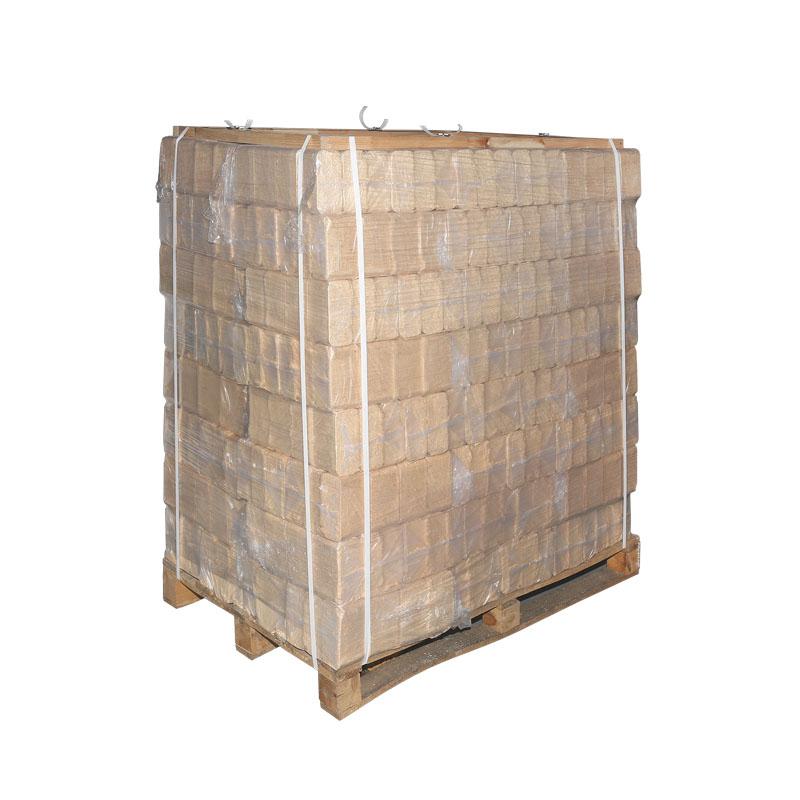 1000 kg 1t holzbriketts quaderform 4 9 kw h je kg nur eur. Black Bedroom Furniture Sets. Home Design Ideas