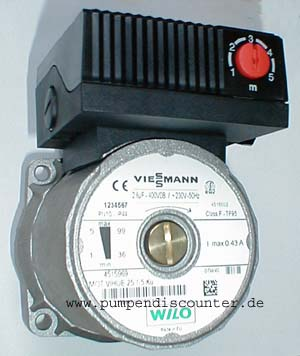 Viessmann wilo pumpe