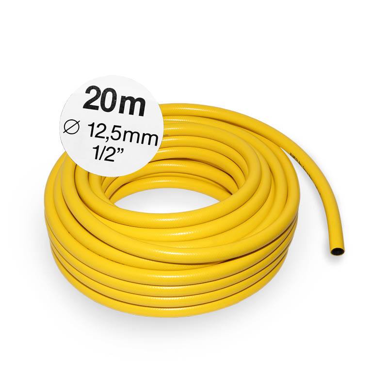 20m 1 2 12 5mm gartenschlauch wasserschlauch knickfest. Black Bedroom Furniture Sets. Home Design Ideas