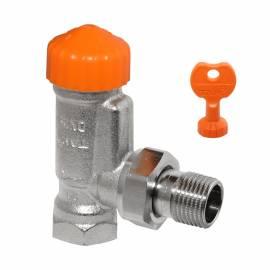 IMI Hydronic HEIMEIER Thermostatventil A-exact Eck DN15  1/2- 3911-02.000 - Bild vergrößern