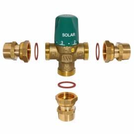 Watts Brauchwassermischer MMV-S  1- DN 25 mit Verschraubung thermischer Mischer Solarmischer - Bild vergrößern