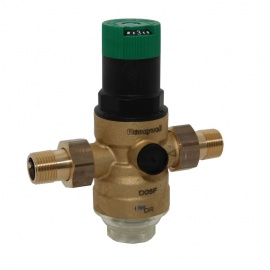 Honeywell Druckminderer D06F DN25, R 1- - Messing A, mit Einstellanzeige  D06F-1A - Bild vergrößern
