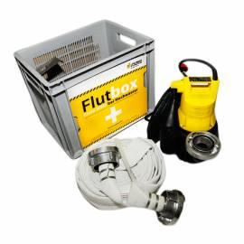 Jung Erste Hilfe Flutbox mit U5KS mit 10m Kabel Tauchpumpe 12,5m C-Schlauch JP09479 - Bild vergrößern