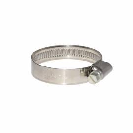 Schlauchschelle Schneckengewindeschelle Band aus Edelstahl 12mm breit Spannbereich 20-32mm - Bild vergrößern