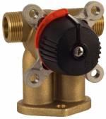 LK 842 ThermoMix P 4-Wege Mischer zur Montage auf Heizkesseln 3/4