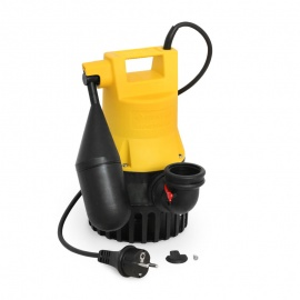 Jung U3 KS Niro Tauchpumpe U3KS 4m Kabel mit Schwimmerschalter 206 Schmutzwasserpumpe JP00206 - Bild vergrößern