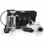 SFA EMERGENCY SET Flutset bestehend aus Box, Schmutzwasserpumpe und 15m C Schlauch SANISUBSTEEL-101