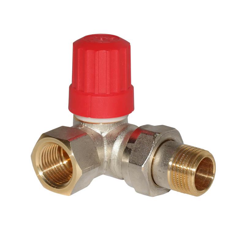 "Heizkörper Ventil Thermostat  Sensor 1//2/"" vernickelt"
