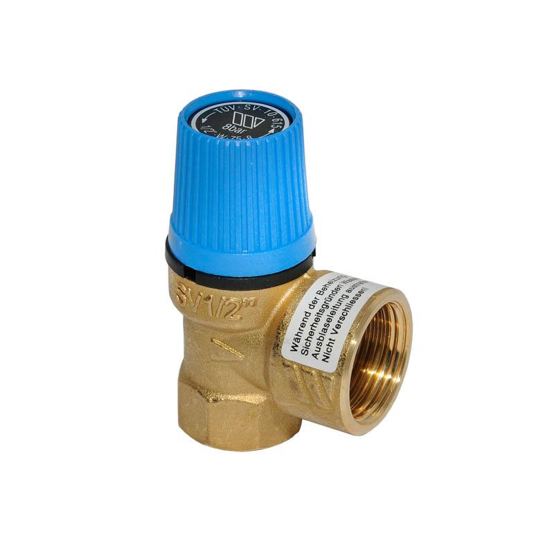 """Sicherheitsventil Trinkwasser Wasser 10 bar 1//2/"""" x 3//4/"""" SV Speicher Membran"""